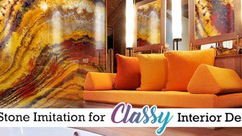 Dubai Style: Stone Imitations for your Classy Interior Design!