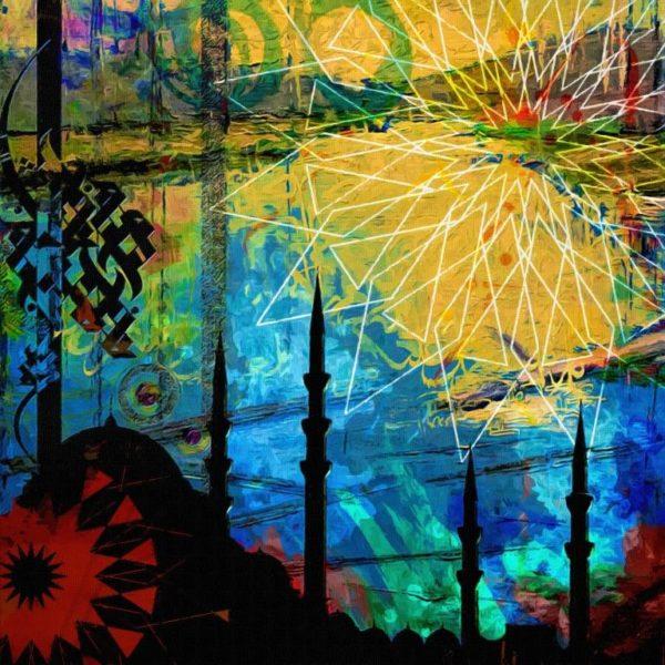 Islamic Caligraphy Art, Art Plus, Canvas printing Dubai