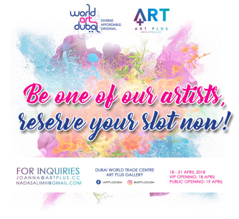 Welcoming Independent Artists for World Art Dubai 2018