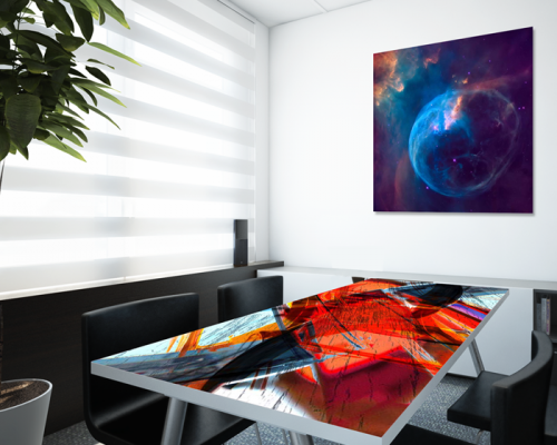 Sublimation Printing on Aluminium Table Top